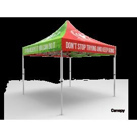 10x10 Custom Pop Up Canopy Tent
