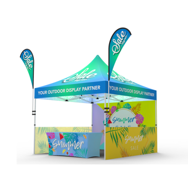 10x10 Custom Pop Up Canopy Tent Combos 12