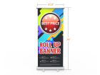 Standard Retractable Banner Stand with Economic Base