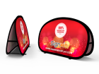 Small Horizontal Pop Up A-Frame Banner Stand