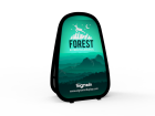 Small Vertical Pop Up A-Frame Banner Stand