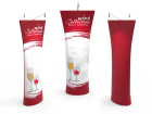 Straight Top Tension Fabric Banner Stand