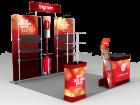 10x10ft Custom Trade Show Booth E