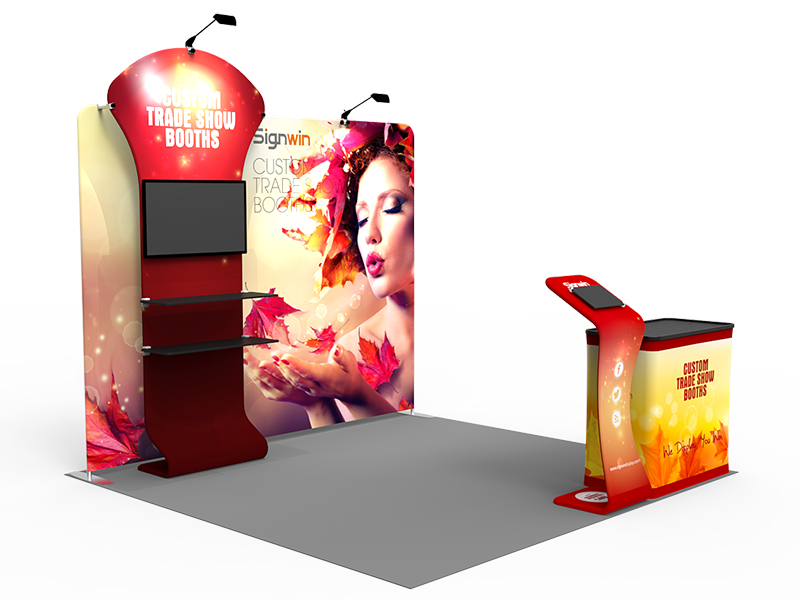 10x10ft Custom Trade Show Booth I