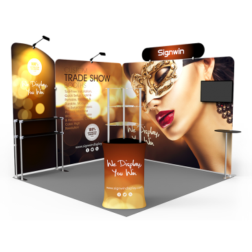 10x10ft Custom Trade Show Booth T