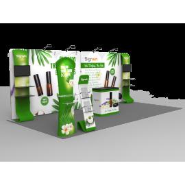 10x20ft Custom Trade Show Booth I