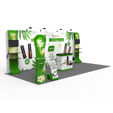 10x20ft Custom Trade Show Booth I