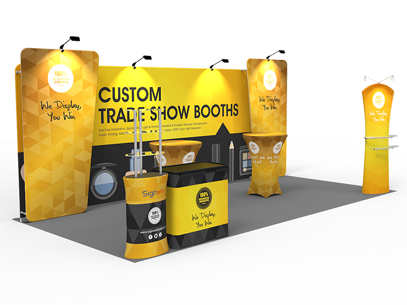 Trade Show Booth Hs Code : Ft custom trade show booth o signwin