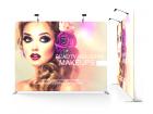 10ft Flat & Durable Tension Fabric Backwall Display
