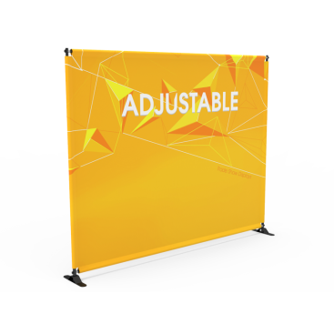 10ft Adjustable Large Tube Telescopic Banner Stand