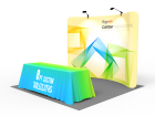 10x10ft Standard Trade Show Booth 03