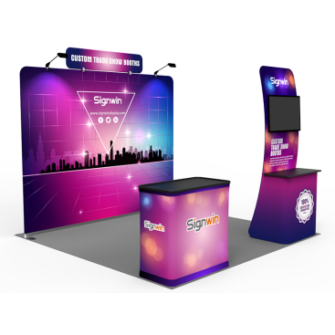 10x10ft Standard Trade Show Booth 27