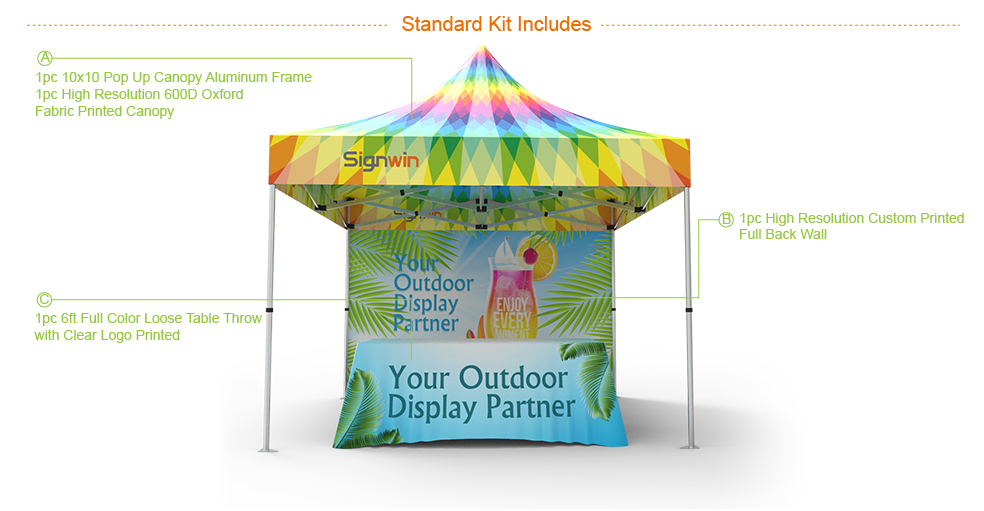 Signwin-10x10 Custom Pop Up Canopy Tent Combos 15_10X10-HL-CT15_Advantage