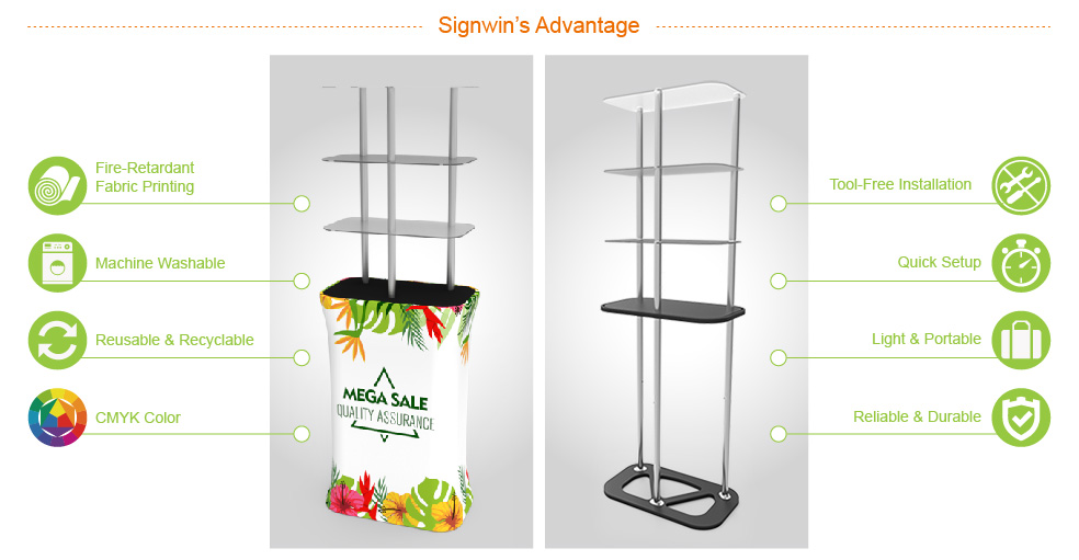 Signwin-Rectangular-Display-Tower-Counter-with-Fabric-Printing_DT-S-01_Advantage