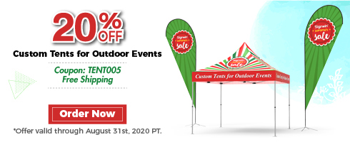 Signwin 20% Off Custom Tents for Outdoor Events
